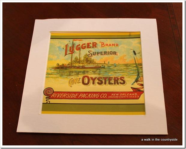 louisiana oyster print