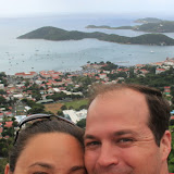 Self-Portrait At Crown Bay Lookout - St. Thomas, USVI