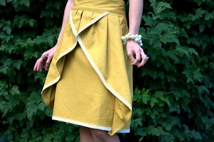 Pinwheel skirt by elle apparel