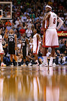 lebron james nba 121129 mia vs sas 04 LeBron Introduces the Ambassador but Switches to X in 2nd Half