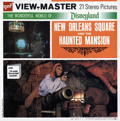 View-Master New Orleans Square (A180), Packet Cover