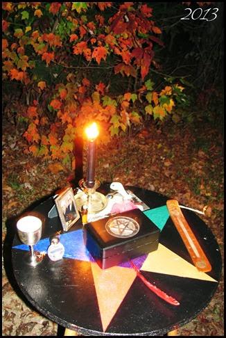 Samhain Altar 2013
