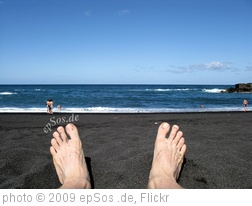 'Lazzy Feet on a Blue Ocean Beach vacation' photo (c) 2009, epSos .de - license: http://creativecommons.org/licenses/by/2.0/