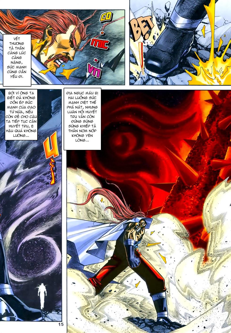 X Bạo Tộc chap 69 - Trang 15