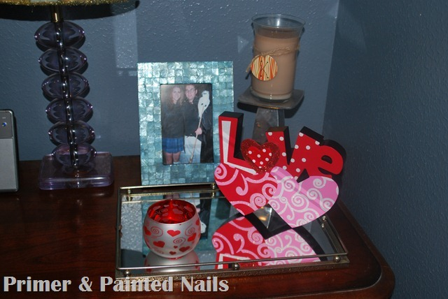 Love Nightstand (2) - Primer & Painted Nails