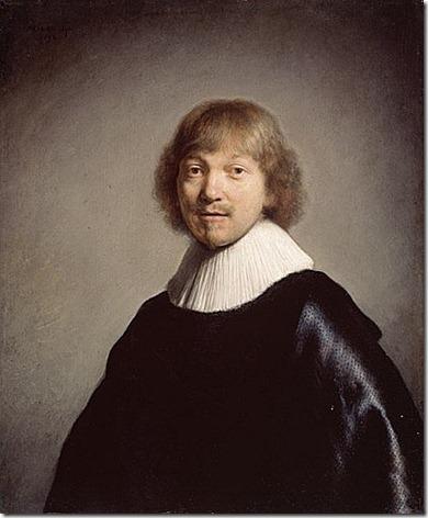 rembrandt - portret jacquesa de gheyn iii (1632)