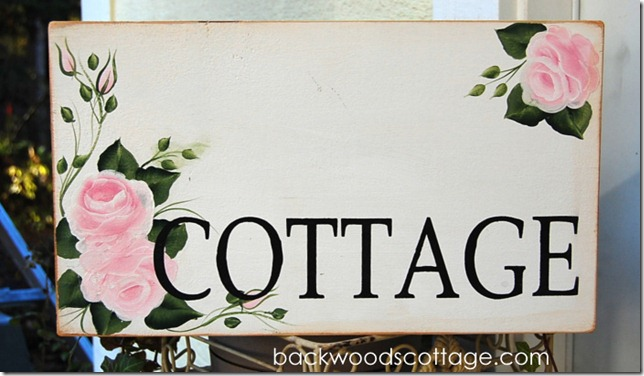 custom pink rose cottage