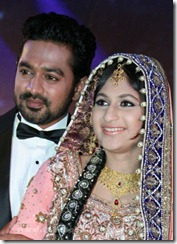 Asif ali marriage reception pic