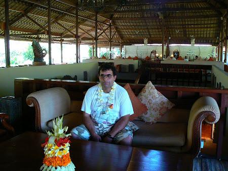 Bali travel: Hyatt Sanur hotel lobby