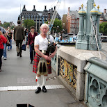 bagpipe in London, London City of, United Kingdom