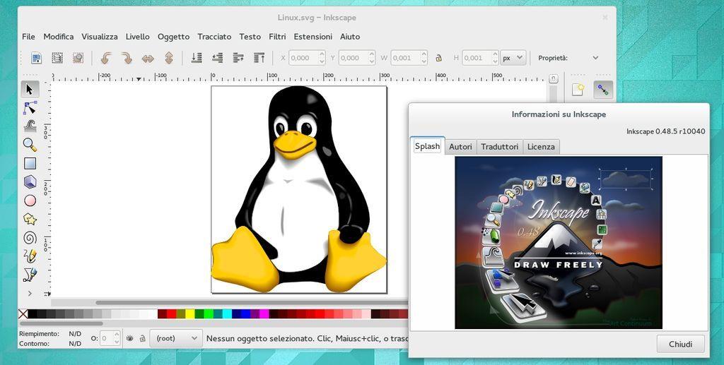 Inkscape 0.48.5