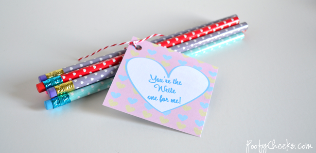 School Valentine Printable