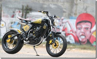 Modified Yamaha Scorpio 2005 Street Fighter
