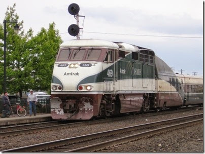 IMG_6367 Amtrak F59PHI #469 at Centralia on May 12, 2007