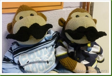 Movember. Moustaches. 2013 Knitted