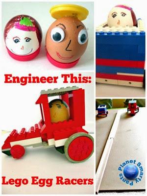Lego Egg Racers Challenge