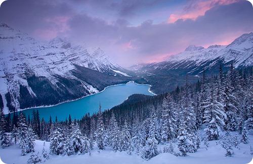 Winter Lake Valley