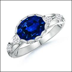 Mantilla Sapphire Ring
