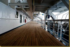 view of B deck outside