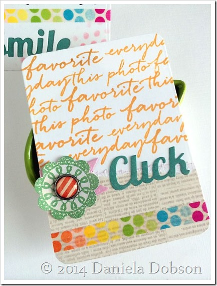 Click card by Daniela Dobson