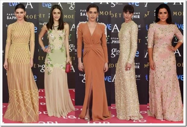 Premios Goya 2015 alfombra roja (5)