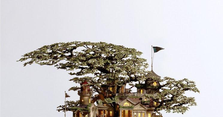 Bonsai tree houses by takanori aiba amusing planet for Unusual bonsai creations