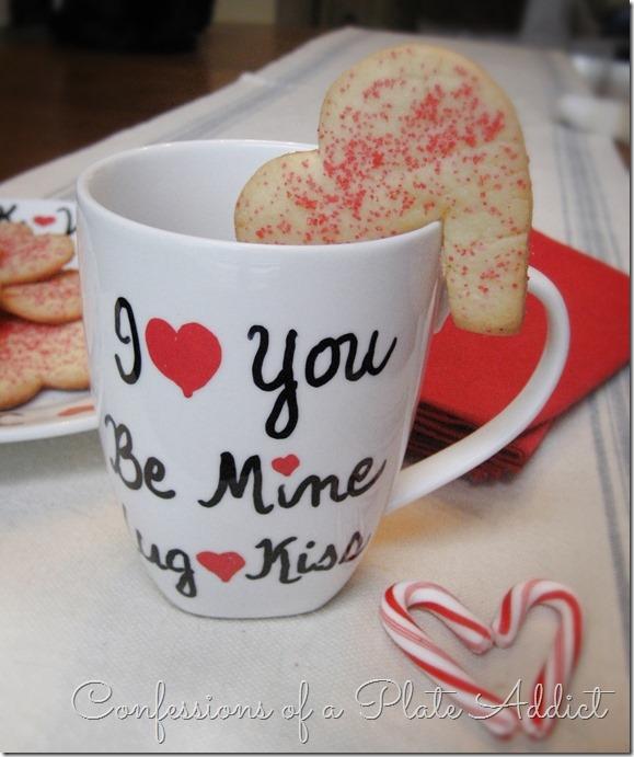 CONFESSIONS OF A PLATE ADDICT DIY Valentine Sharpie Mug