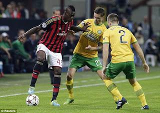 AC Milan 2:0 Celtic group H Champions league