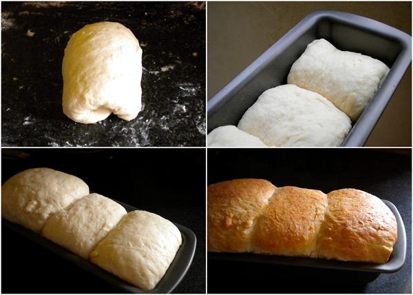 Easy way to shape Hokkaido Bread