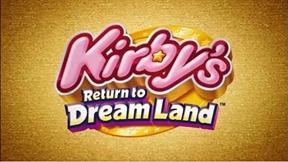 Vídeo e Imagens de Kirby's Return to Dreamland (Wii). Kirbys_return_to_dreamland_logo_thumb
