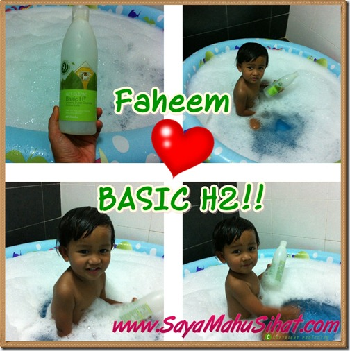 Faheem Love Basic H2 Shaklee