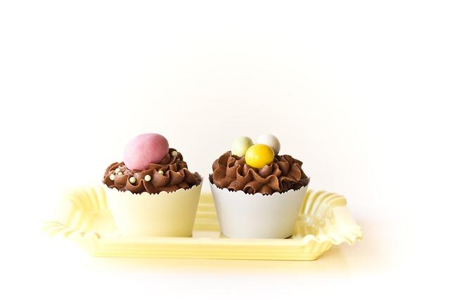 enkle og søte cupcakes til påske IMG_6290