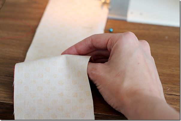 Holding fabric while sewing