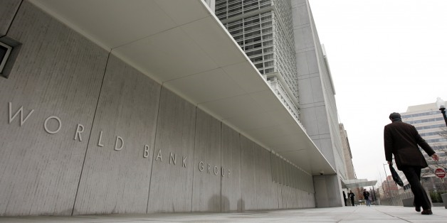 World Bank Group headquarters. Fighting climate change has become the bank's new guiding principal, as economic evidence indicates that global warming will be a driving cause of poverty worldwide in the 21st century. Photo: Susan Walsh / AP