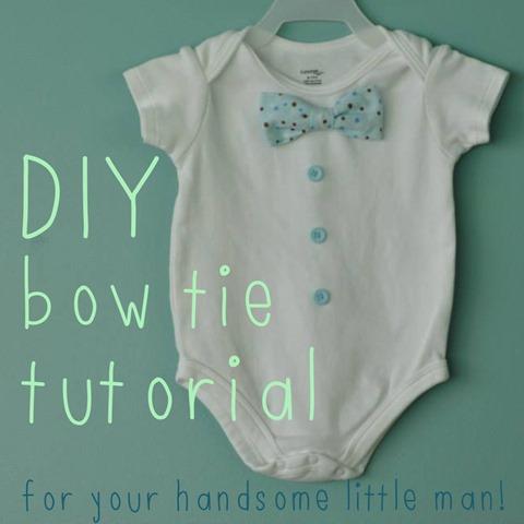 baby boy onesie bowtie