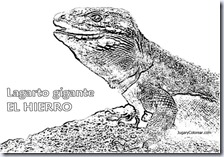 LAGARTO Gigante del Hierro COLOREAR 1