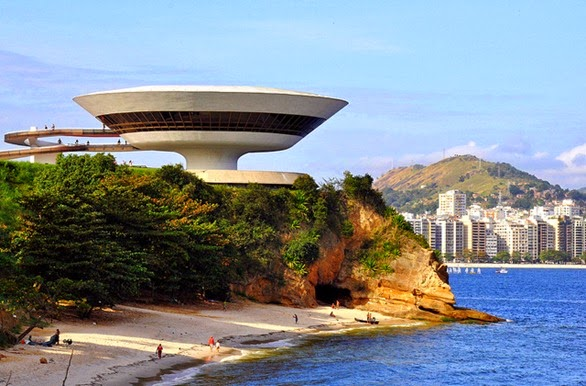 MAC Niteroi - Oscar Niemeyer, Rio de Janeiro