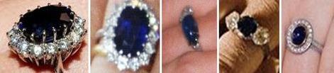 Sapphires - Catherine, Diana, Marie-Chantal, Anne, Tatiana