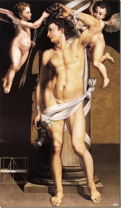 Benedetto Pagni, St Sébastien