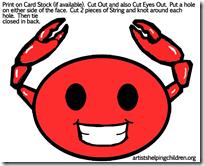 crabs-masks-printables