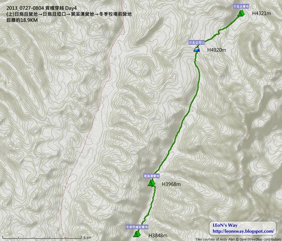 D4航跡圖