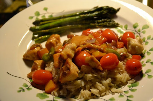 One-pan Balsamic Chicken; Andrea Lynaugh