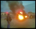 ANC HATE SPEECH PROTESTORS JOBURG AIRPORT ROAD MAY 29 2012