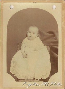 Hazel  6 months old in 1890