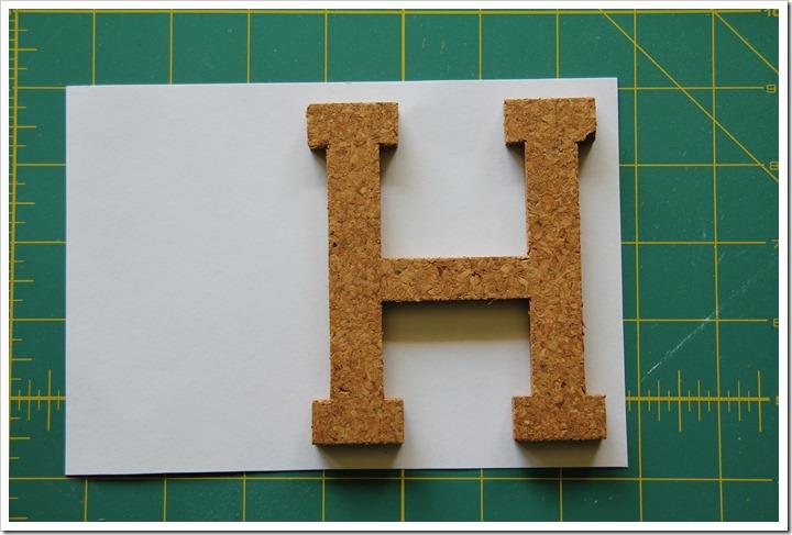 Monogram Letter Frames 11