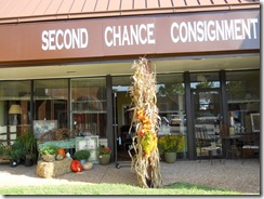 second chance store front