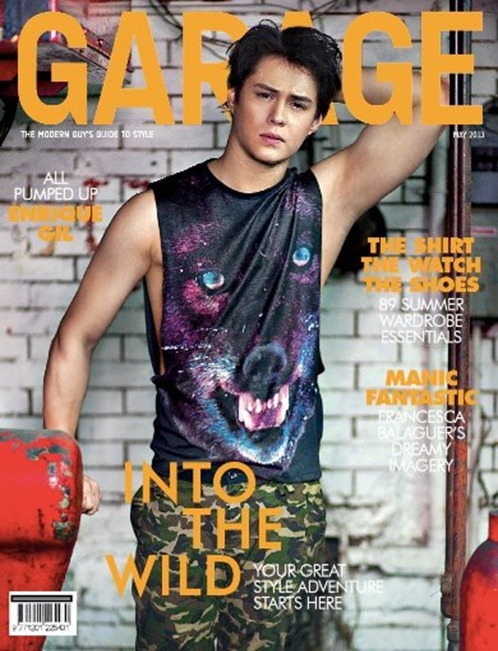 Enrique Gil garage magazine