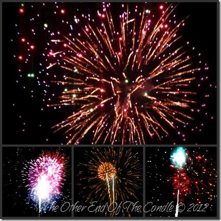 Fireworks Collage 2012