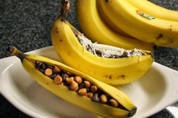 banana campfire recipe