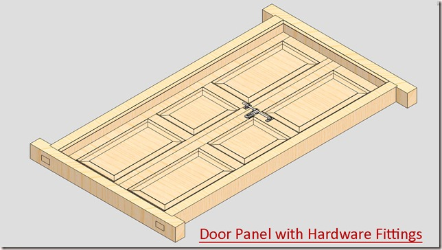 Door Panel with Hardware Fittings_2